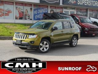 Used 2012 Jeep Compass North Edition  ROOF HTD-SEATS REM-START for sale in St. Catharines, ON