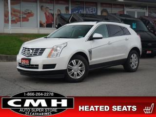 Used 2013 Cadillac SRX Leather Collection  NAV CAM HTD-SEATS 18-AL for sale in St. Catharines, ON