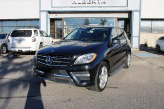 Used 2013 Mercedes-Benz ML-Class ML350 BlueTEC for sale in Calgary, AB