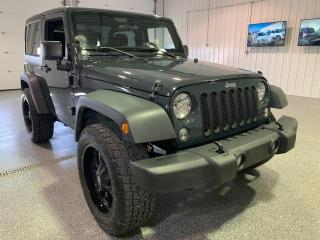 Used 2018 Jeep Wrangler Sport 4WD #Clean Carfax for sale in Brandon, MB