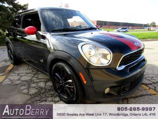 Used 2013 MINI Cooper Paceman Cooper S Paceman ALL4 6 Speed, Accident Free! for sale in Woodbridge, ON