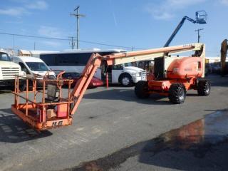 Used 2010 JLG 800AJ 4x4 80 Foot Boom Lift Diesel for sale in Burnaby, BC