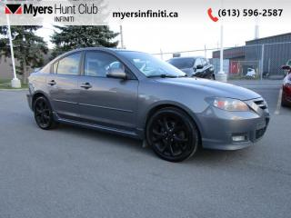 Used 2007 Mazda MAZDA3 GT  SOLD AS IS for sale in Ottawa, ON