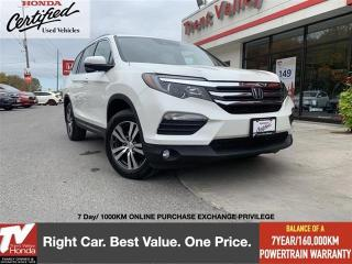 Used 2018 Honda Pilot EX-L AWD w/Navigation for sale in Peterborough, ON