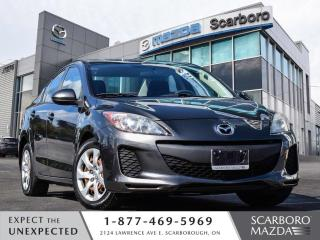 Used 2012 Mazda MAZDA3 AUTO SEDAN 1 OWNER CLEAN CARFAX LOW LOW KM for sale in Scarborough, ON