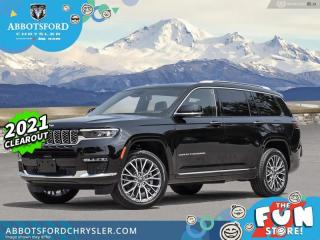 New 2021 Jeep Grand Cherokee L Summit Reserve  - Leather Seats - $626 B/W for sale in Abbotsford, BC