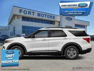 New 2021 Ford Explorer XLT High Package  - Activex Seats - $371 B/W for sale in Fort St John, BC