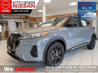 New 2021 Nissan Kicks SR  - Premium Package - $171 B/W for sale in Kitchener, ON