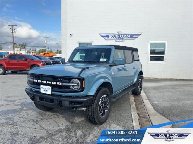 2021 Ford Bronco Outer Banks 4X4  - Leather Seats - $374 B/W