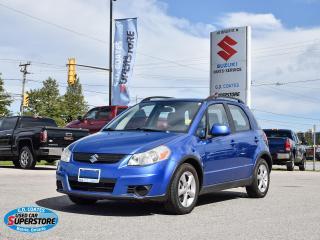 Used 2007 Suzuki SX4 JX AWD ~Power Windows + Locks ~A/C ~Alloy Wheels for sale in Barrie, ON