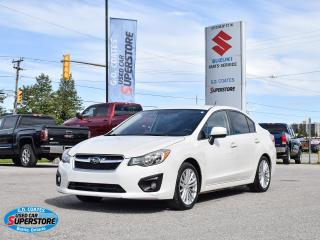 Used 2012 Subaru Impreza 2.0i Touring ~Heated Seats ~Backup Cam ~Fog Lamps for sale in Barrie, ON