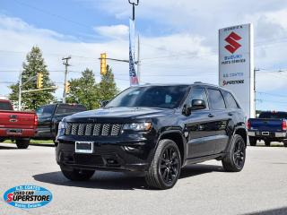 Used 2018 Jeep Grand Cherokee Altitude 4x4 ~Nav ~Cam ~Moonroof ~Heated Leather for sale in Barrie, ON
