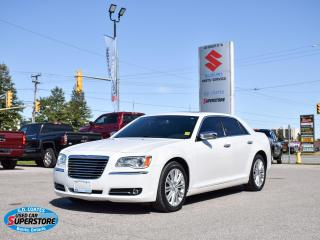 Used 2014 Chrysler 300 C AWD ~Nav ~Cam ~Heated/Cooled Leather ~Pano Roof for sale in Barrie, ON