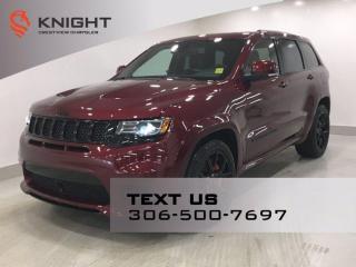 Used 2018 Jeep Grand Cherokee SRT 6.4L Hemi | Leather | Sunroof | Navigation | for sale in Regina, SK