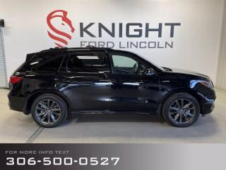Used 2019 Acura MDX A-Spec for sale in Moose Jaw, SK