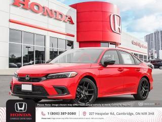 New 2022 Honda Civic Sport APPLE CARPLAY™ & ANDROID AUTO™ | HONDA SENSING TECHNOLOGIES | HEATED SEATS for sale in Cambridge, ON