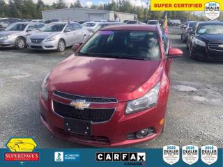 Used 2012 Chevrolet Cruze LT Turbo for sale in Dartmouth, NS