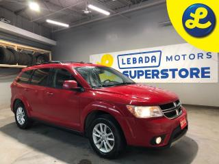 Used 2016 Dodge Journey SXT * 3.6L V6 * 6-Speed Automatic * Roof Rails * Remote Start * Hands Free Calling * Push Button Start *  Cruise Control * Steering Wheel Controls * for sale in Cambridge, ON
