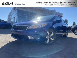 Used 2018 Kia Forte LX+ One Owner! for sale in Red Deer, AB