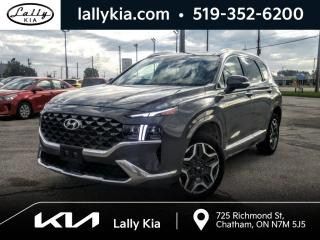 Used 2021 Hyundai Santa Fe ULTIMATE CALLIGRAPHY AWD for sale in Chatham, ON