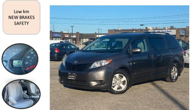 2011 Toyota Sienna 5dr V6 7-Pass FWD LOW KM NEW BRAKES SAFETY