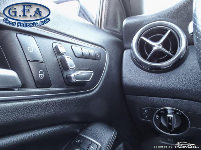 2018 Mercedes-Benz GLA 250 PREMIUM, 4MATIC, LEATHER SEATS, PANROOF,BLIND SPOT Photo17