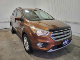 Used 2017 Ford Escape SE w/HEATED LEATHER, 2.0L ECOBOOST, AND TOWING PKG for sale in Huntsville, ON
