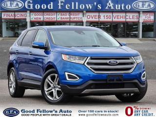 Used 2018 Ford Edge TITANIUM, LEATHER SEATS, NAVI, 2.0L TURBO, LDW for sale in Toronto, ON