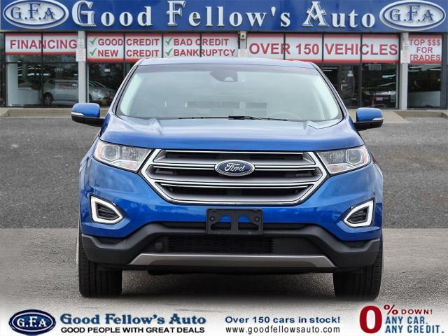 2018 Ford Edge TITANIUM, LEATHER SEATS, NAVI, 2.0L TURBO, LDW Photo2