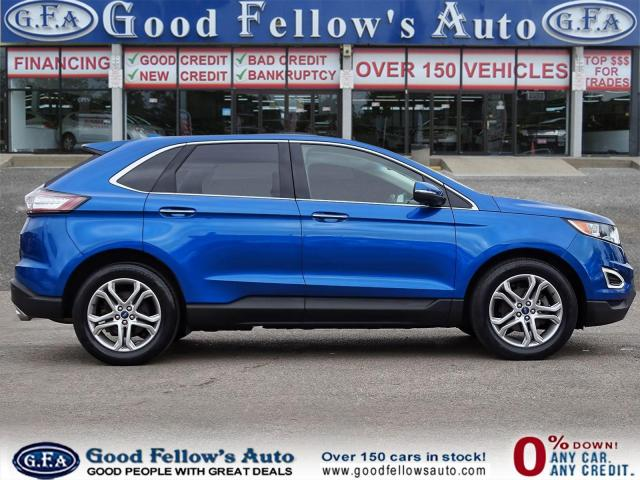 2018 Ford Edge TITANIUM, LEATHER SEATS, NAVI, 2.0L TURBO, LDW Photo3