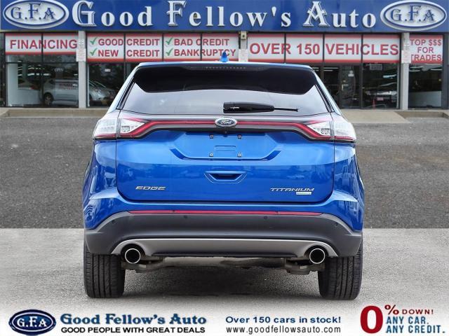 2018 Ford Edge TITANIUM, LEATHER SEATS, NAVI, 2.0L TURBO, LDW Photo4