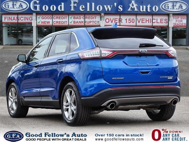 2018 Ford Edge TITANIUM, LEATHER SEATS, NAVI, 2.0L TURBO, LDW Photo5