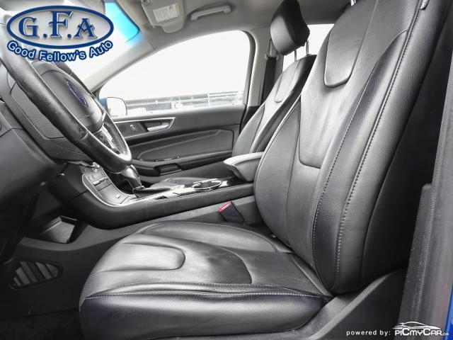 2018 Ford Edge TITANIUM, LEATHER SEATS, NAVI, 2.0L TURBO, LDW Photo7