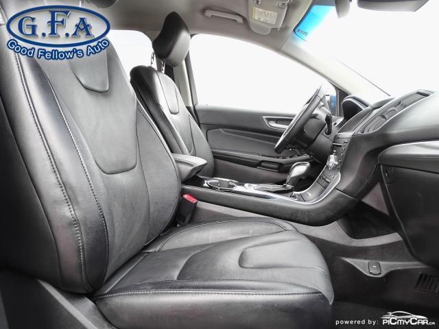 2018 Ford Edge TITANIUM, LEATHER SEATS, NAVI, 2.0L TURBO, LDW Photo10