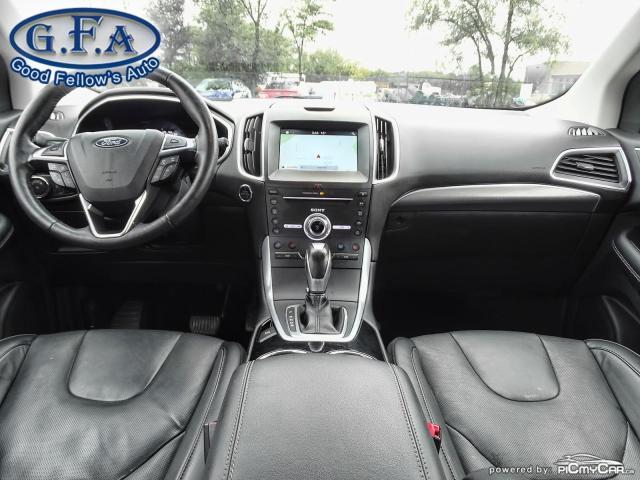 2018 Ford Edge TITANIUM, LEATHER SEATS, NAVI, 2.0L TURBO, LDW Photo12