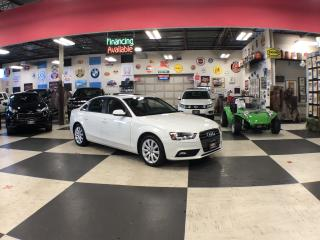 Used 2014 Audi A4 2.0T QUATTRO AUT0 LEATHER SUNROOF BLUETOOTH for sale in North York, ON