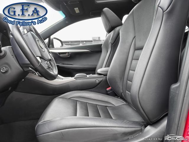 2018 Lexus NX F SPORT3, LEATHER SEATS, SUN ROOF, NAVIGATION, LDW Photo8