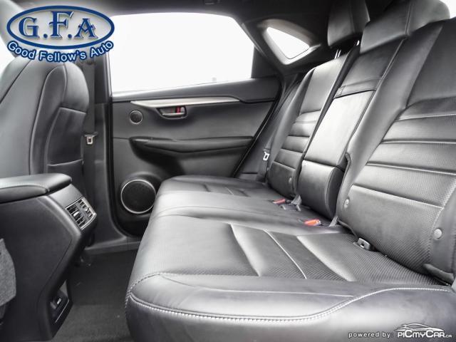 2018 Lexus NX F SPORT3, LEATHER SEATS, SUN ROOF, NAVIGATION, LDW Photo10