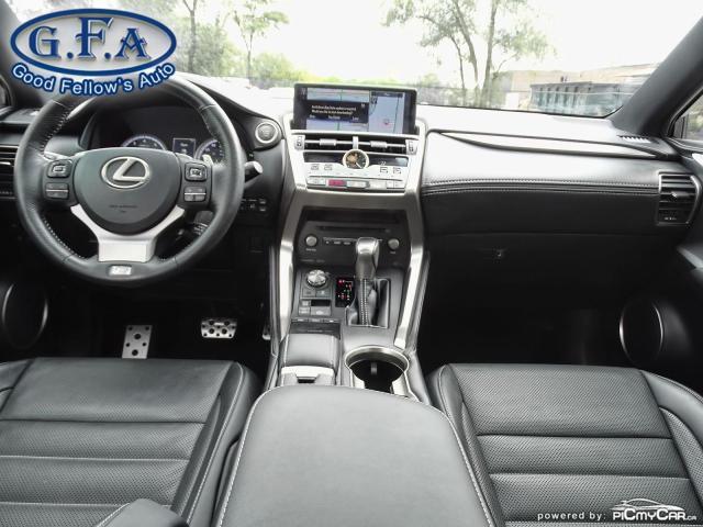 2018 Lexus NX F SPORT3, LEATHER SEATS, SUN ROOF, NAVIGATION, LDW Photo13