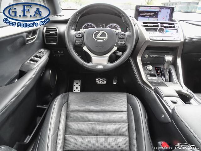 2018 Lexus NX F SPORT3, LEATHER SEATS, SUN ROOF, NAVIGATION, LDW Photo14