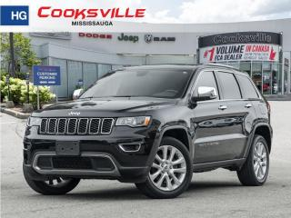 Used 2017 Jeep Grand Cherokee Limited, BACKUP CAM, SUNROOF, LEATHER, HEATED SEAT for sale in Mississauga, ON