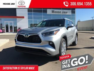 New 2021 Toyota Highlander LIMITED  for sale in Moose Jaw, SK