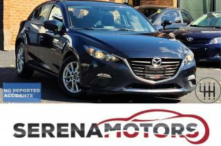 Used 2015 Mazda MAZDA3 GS | MANUAL | HTD SEATS | B. CAM | NO ACCIDENTS for sale in Mississauga, ON
