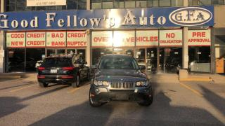 Used 2009 BMW X3 AWD, LEATHER SEATS, PANROOF, HEATED SEATS, 3L 6CYL for sale in Toronto, ON