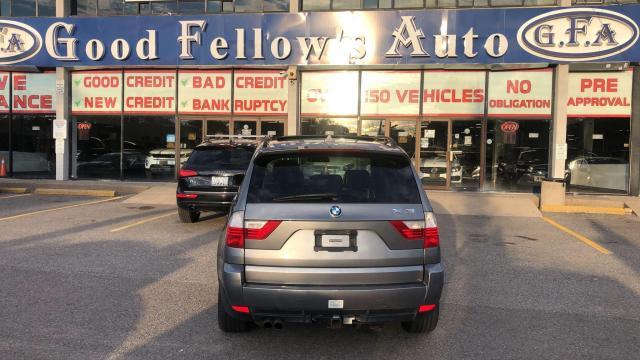 2009 BMW X3 AWD, LEATHER SEATS, PANROOF, HEATED SEATS, 3L 6CYL Photo4