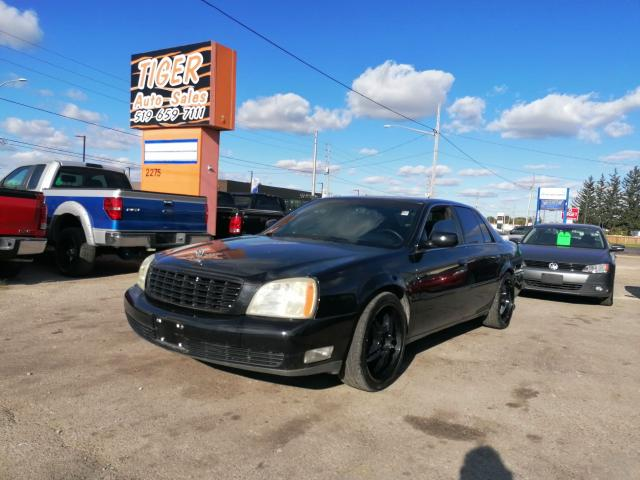 2003 Cadillac DeVille *LEATHER*WHEELS*BLACKED OUT*ONLY 114KMS*CERT