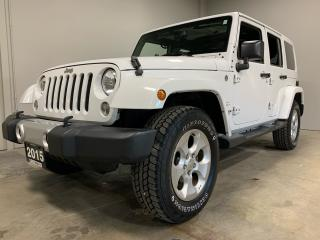 Used 2015 Jeep Wrangler Sahara for sale in Owen Sound, ON