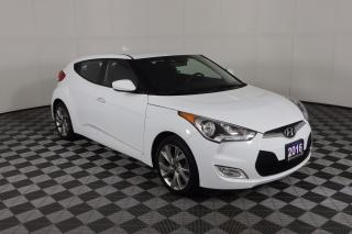 Used 2016 Hyundai Veloster 1 OWNER - NO ACCIDENTS | AUTO | HEATED SEATS | 2 SETS OF WHEELS | BACKUP CAM for sale in Huntsville, ON