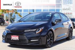 Used 2020 Toyota Corolla SE Nightshade with Low Kilometer and Clean Carfax for sale in Oakville, ON