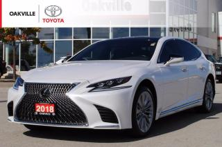 Used 2018 Lexus LC 500 L with Leather Seats, Adjustable Air Suspension, and HUD Display for sale in Oakville, ON